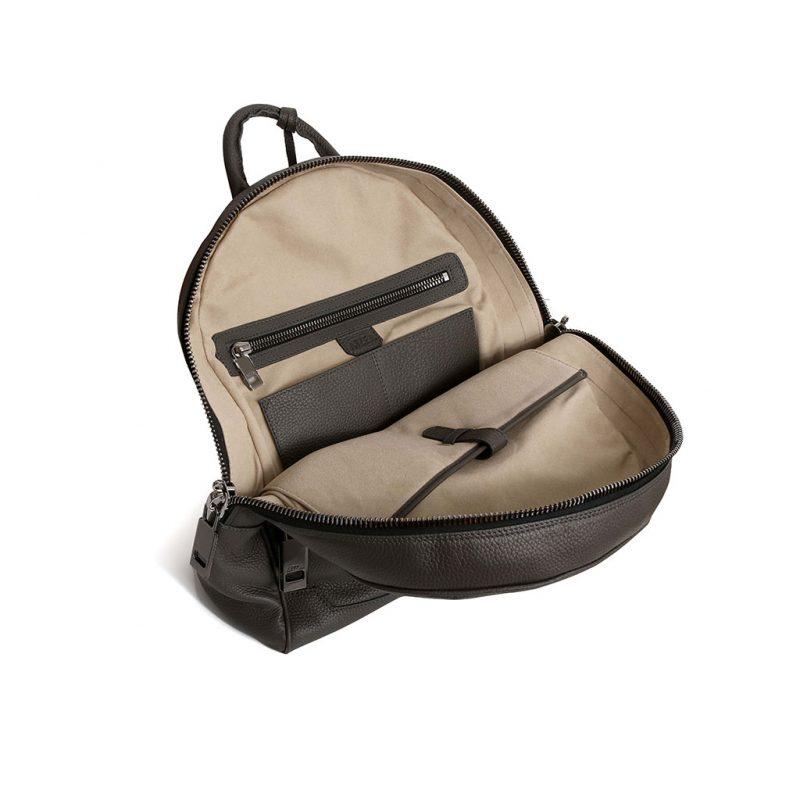 sac à dos taurillon gris