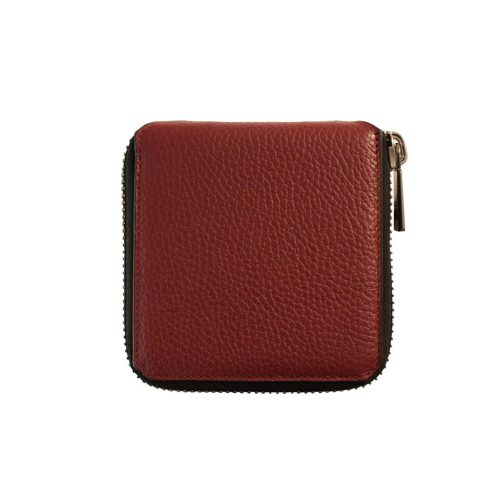 "Wallet ""BTZ"" zipped in Taurillon"