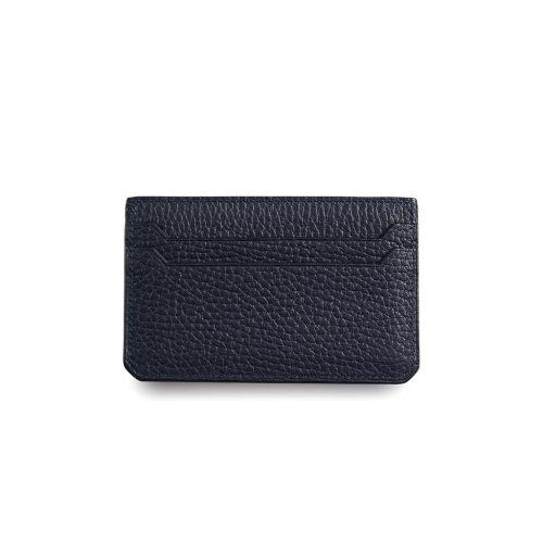 Flat Card Holder in Taurillon