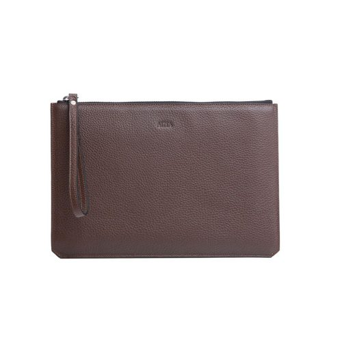 Pouch for Men in Taurillon