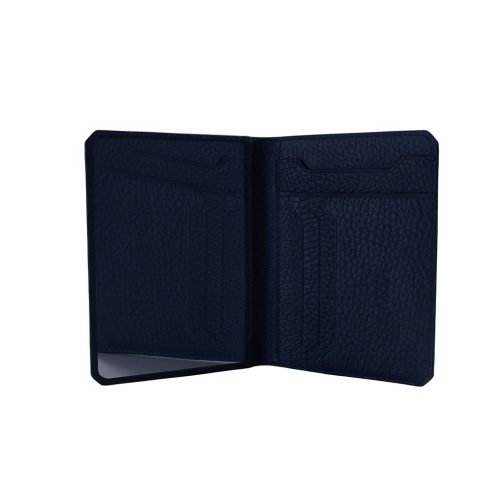 ID Flat Wallet in Taurillon