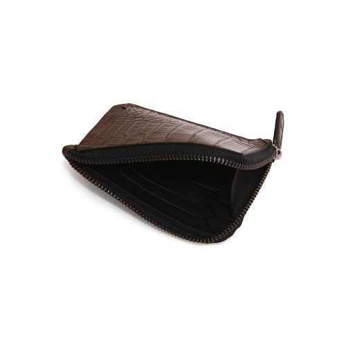 Coins and Card Holder in Alligator