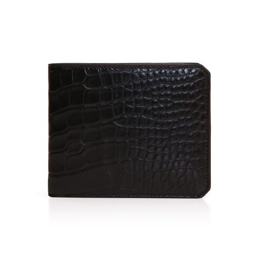 Wallet 4cc with Coin Case in Alligator