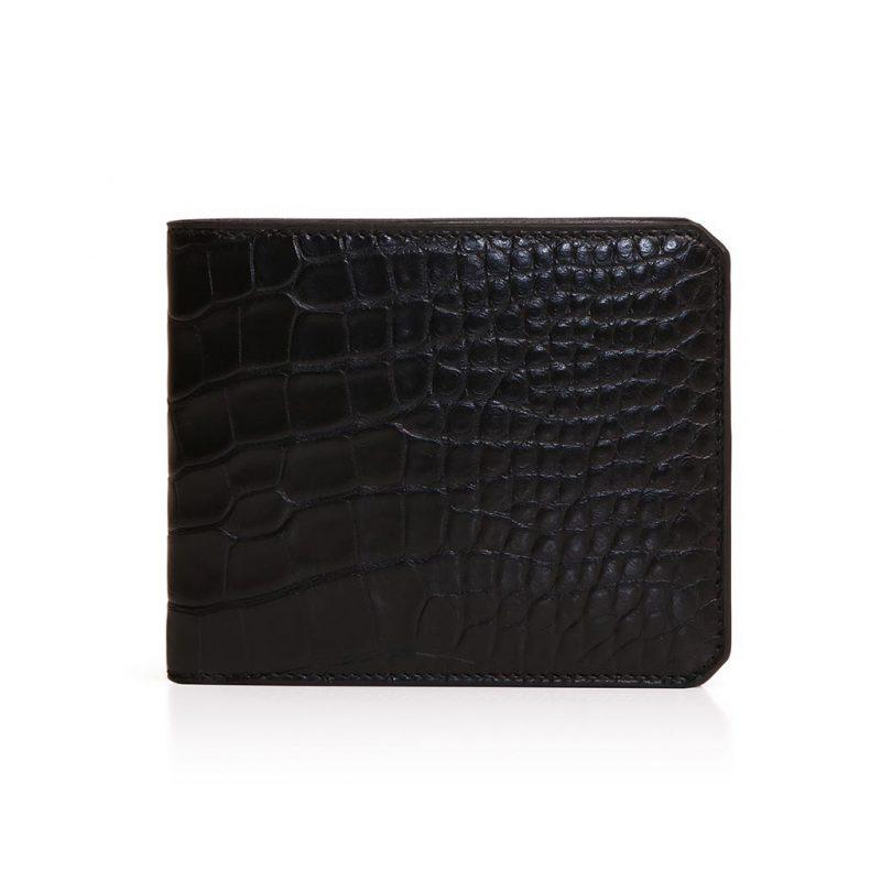 #1025-Wallet-4cc-monnaie-alligator-noir