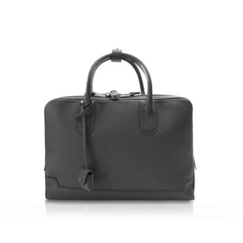Extra Slim Briefcase 5cm in Taurillon