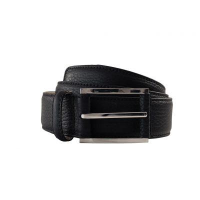 ceinture taurillon noir