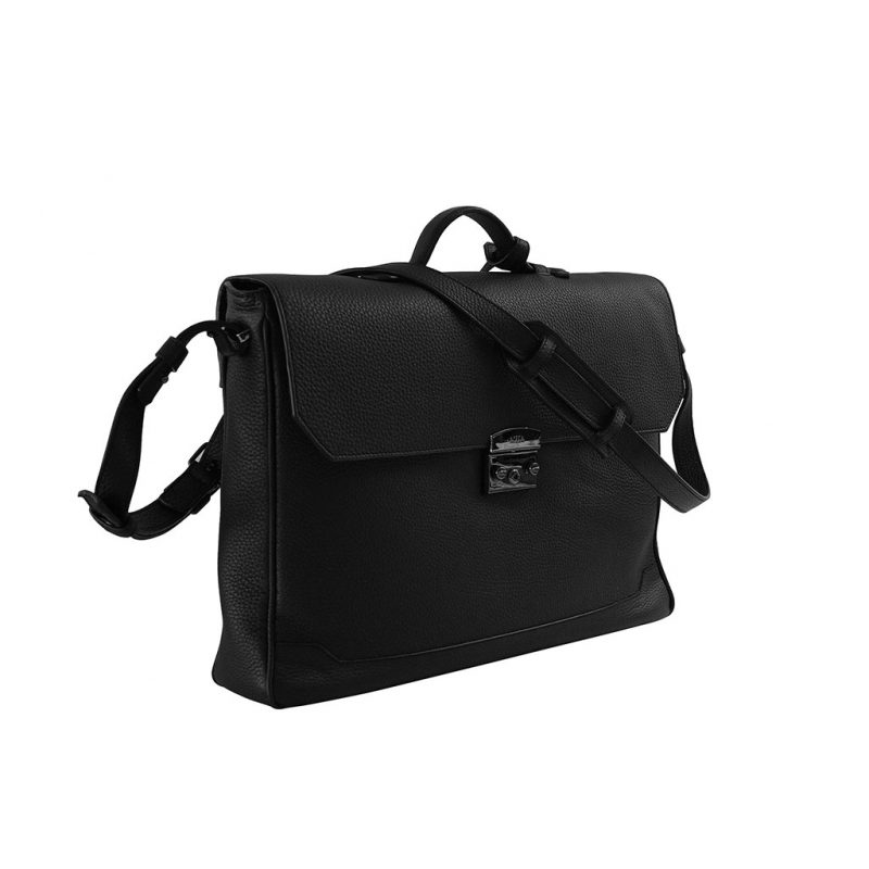 sac business taurillon noir