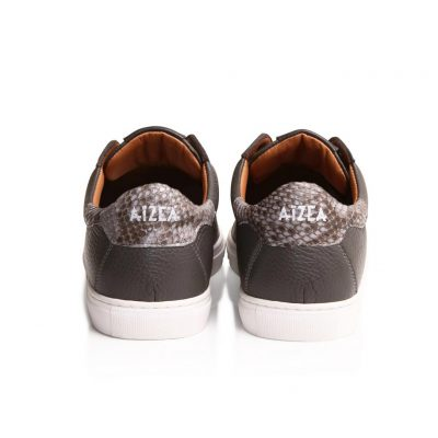 sneakers taurillon gris
