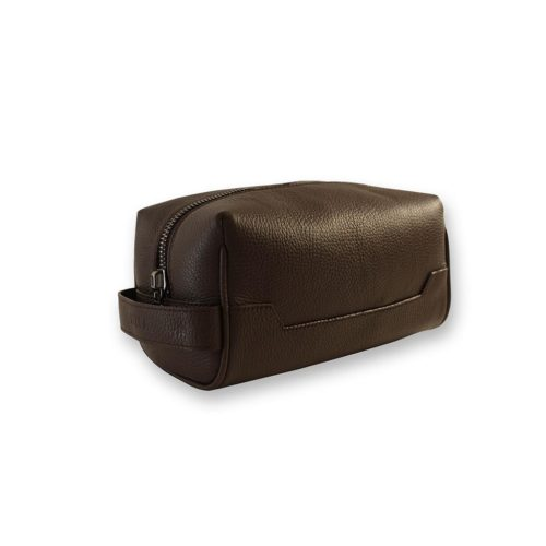 Toiletry Bag in Taurillon