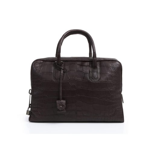 Slim Briefcase in Alligator
