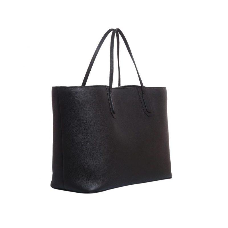 sac cabas taurillon noir