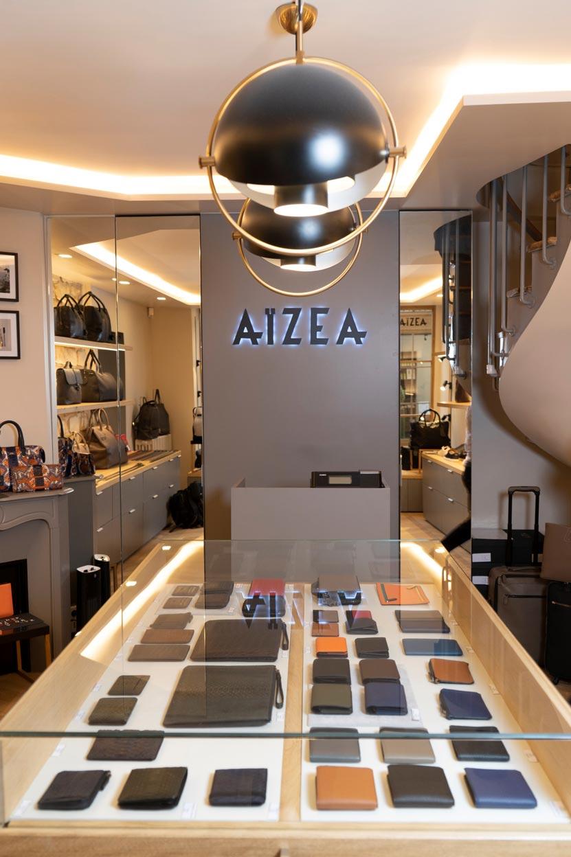boutique aizea intérieur