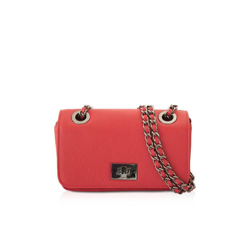 sac joana taurillon rouge