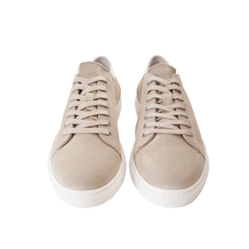 Sneakers JON en Veau Velours semi-doublées
