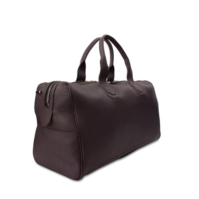 sac de voyage 55 cm taurillon raisin
