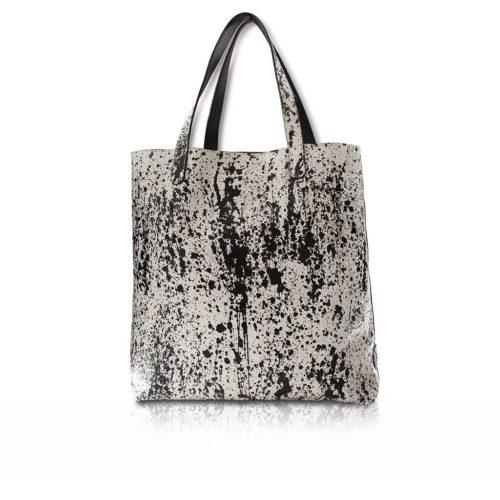 Shopper Bag in Python Pollock
