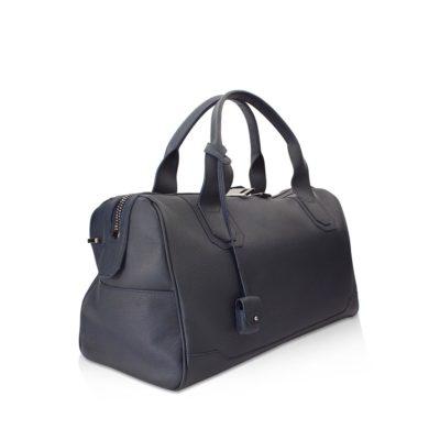 sac de voyage 45 cm taurillon marine