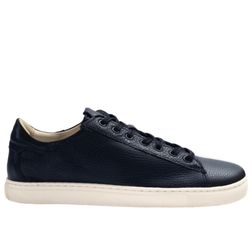 Sneakers HEGOA half-lined in Taurillon Calf Leather