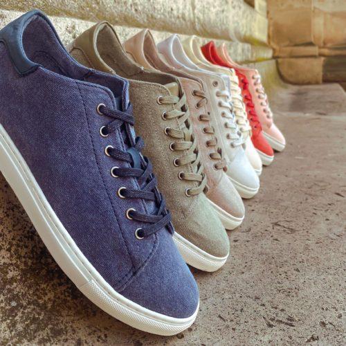 Pré-commande | Sneakers UDA canvas 100% coton recyclé